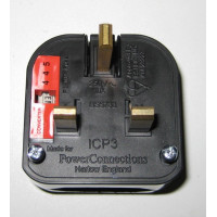 3A European to UK Plug Adapter