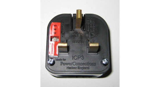 5A European to UK Plug Adapter