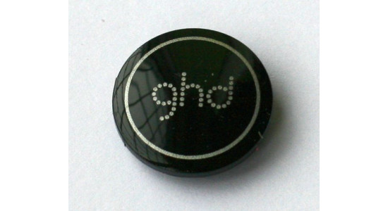 GHD Type 2 Hinge Cap - Black and Silver